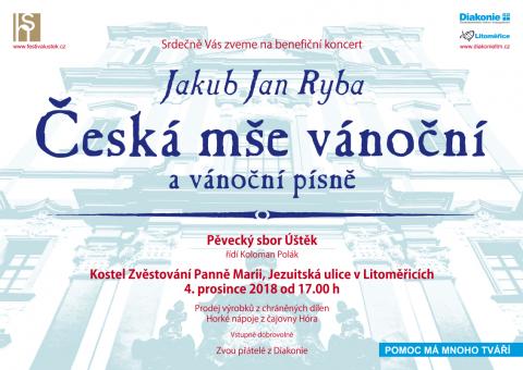 Benefiční koncert Diakonie Litoměřice