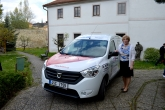 Charitní domov sv. Zdislavy děkuje za nové auto